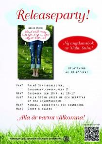 Den 10/4 smäller det! Releaseparty på Malmö Stadsbibliotek! Kl 16! Kom dit!